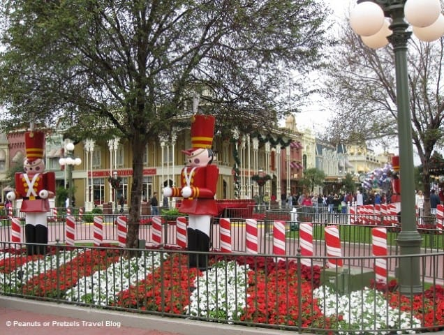 Christmas at Disney World – 80 Degree Weather and Santa Hats With Mickey Ears