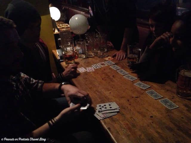 Drinking games in Beijing - Peanuts or Pretzels