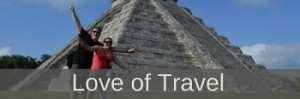 Love of travel icon