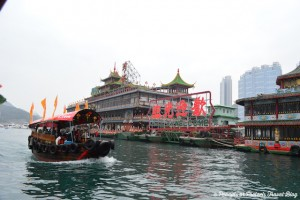 Our Big Bus Deluxe tour in Hong Kong also included a Sampan ride in the Aberdeen harbor & we got to see the iconic Jumbo floating restaurant!