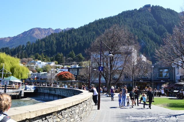 Downtown Queenstown NZ Shorefront