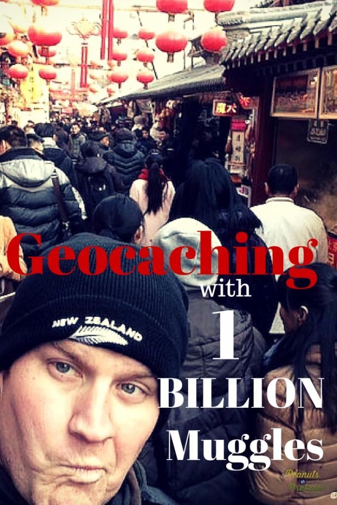 Geocaching with 1 Billion Muggles
