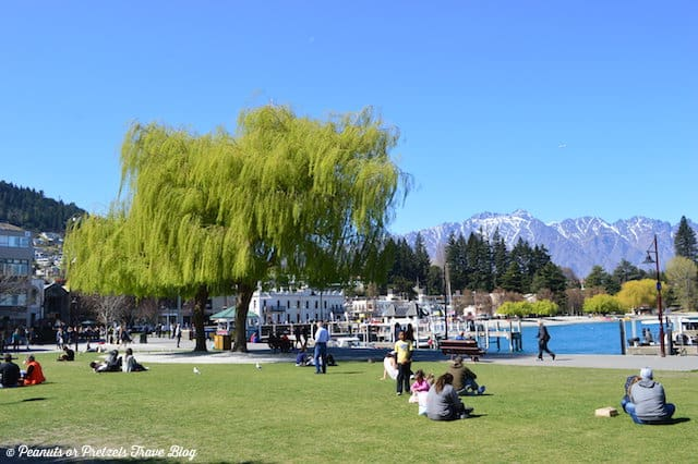 People enjoying Queenstown New Zealand - Peanuts or Pretzels