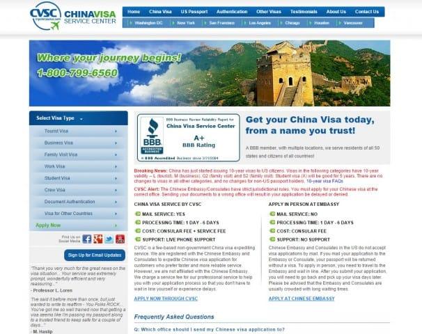 Example visa agency in DC