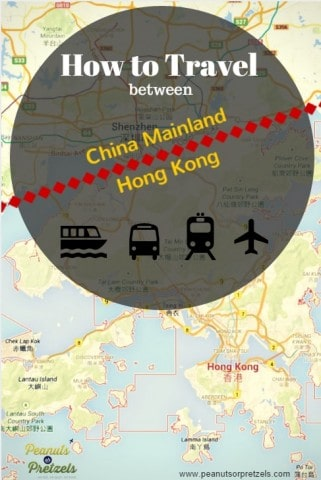 how to travel between hong kong and china