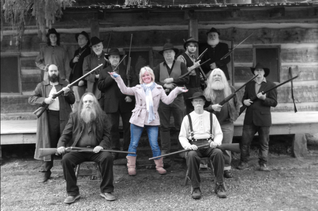 Meet Wendy - a descendant from both the Hatfield and McCoy families, she is the mastermind behind the GeoTour!