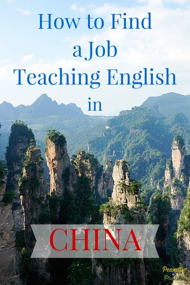 How to Find a Job Teaching English in China