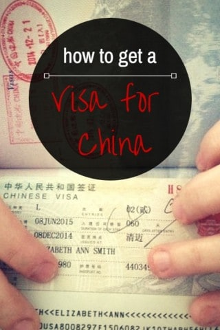 How to get a visa for china - featured