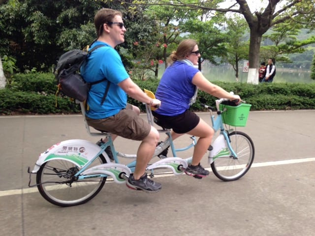 dafushan bike riding