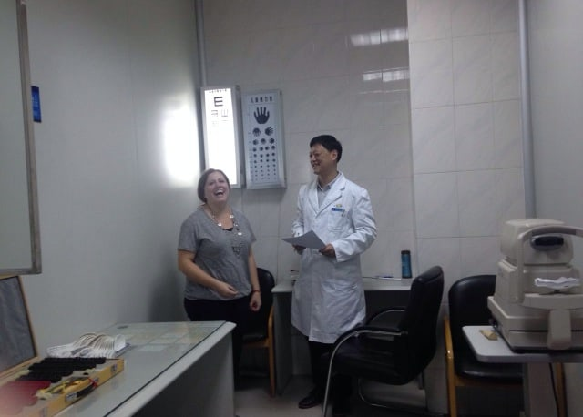 Laughing with the Dr. in China