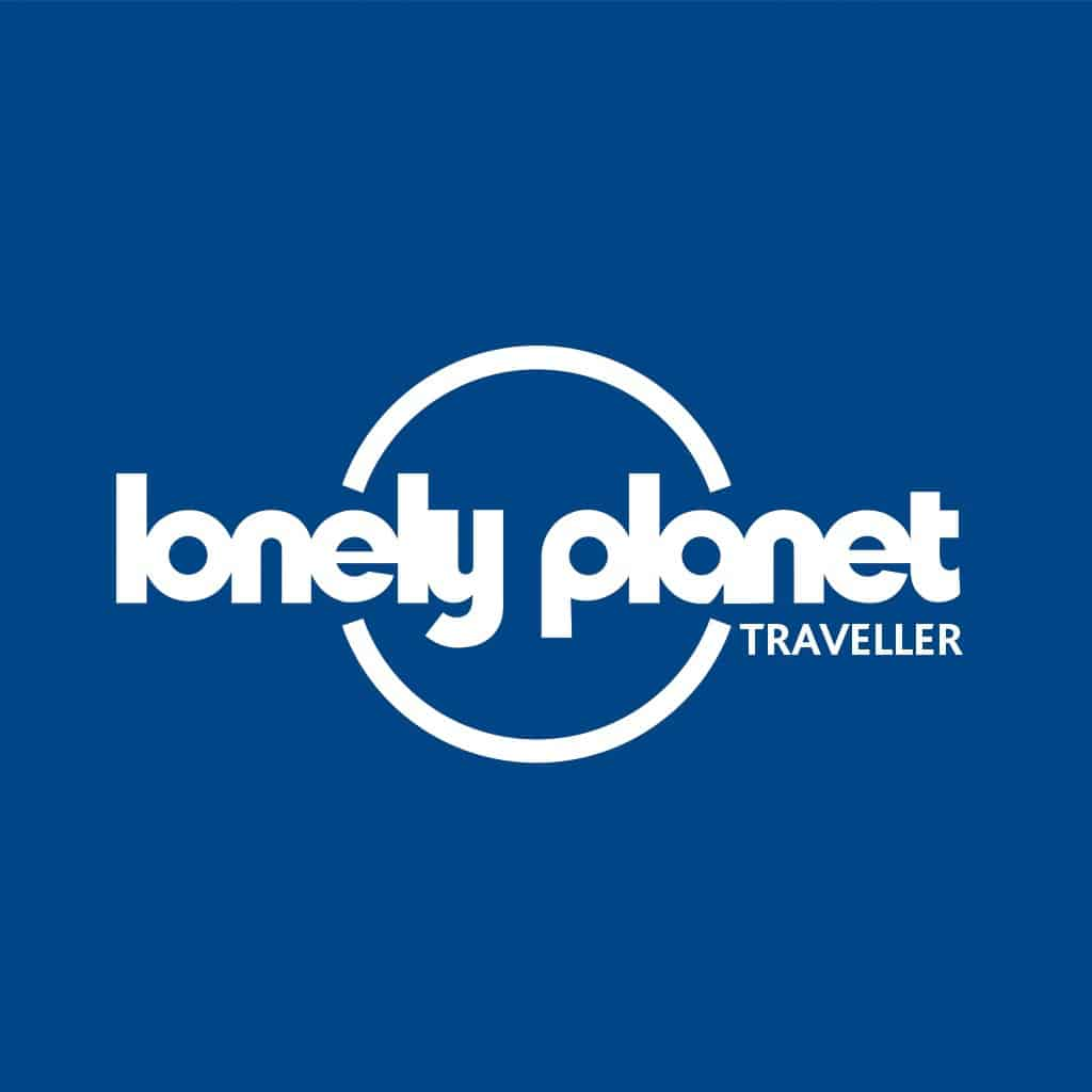 Lonely Planet travel app icon for smartphone