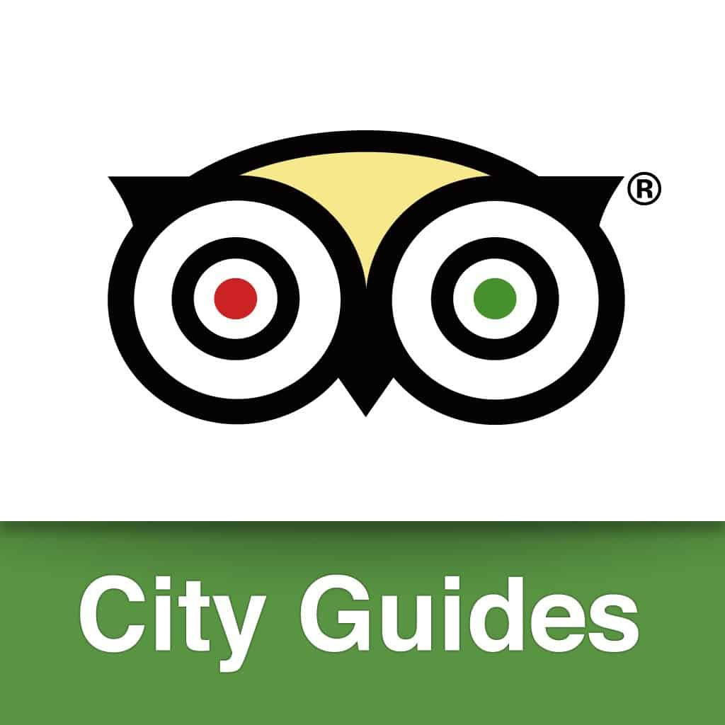 TripAdvisor Guide travel app icon is a great resource