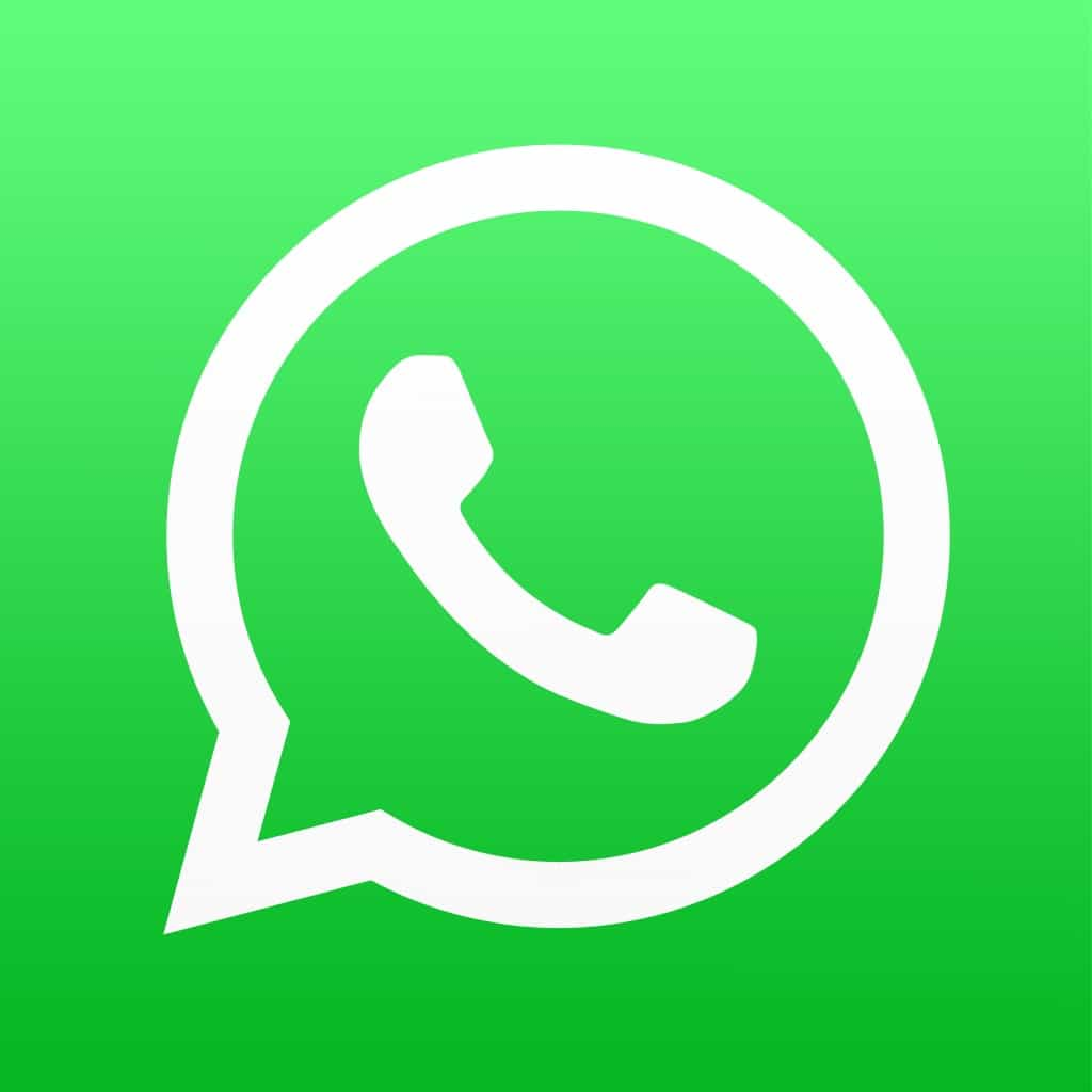 Whats App travel app icon for communication