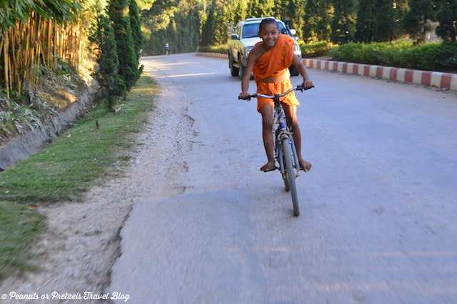 Travel Pic from the Road:  A Boy and His Bike in Myanmar