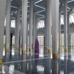 Travel Pic from the Road:  Touring a Mosque in Kuala Lumpur, Malaysia