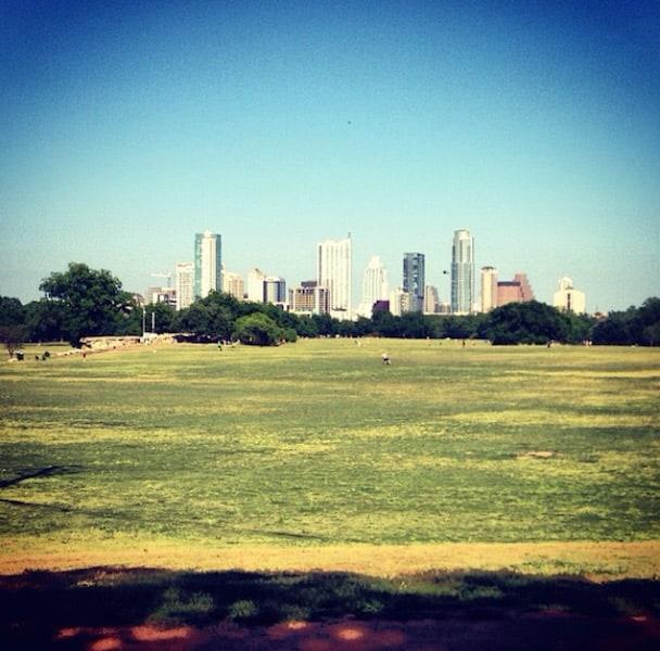 Skyline from Zilker Park copy