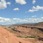Travel Pic from the Road:  A View From Under the Arch in Arches National Park – Utah
