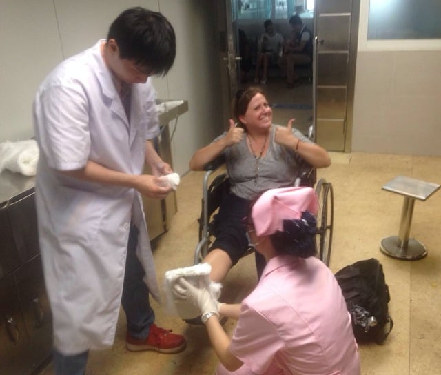 Remember the Time I Broke My Foot…in China!