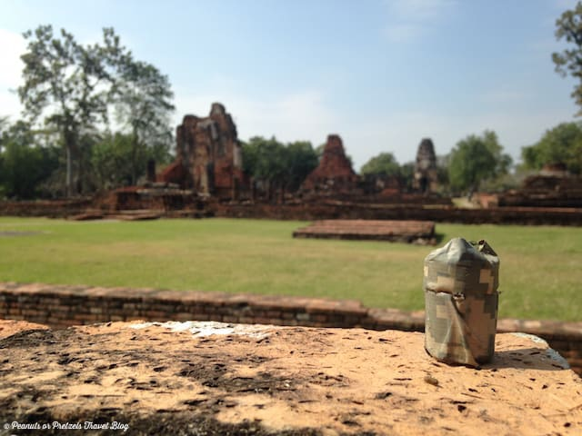 geocaching in Thailand, what does a geocache look like, homemade geocache