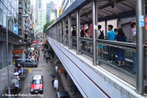 Hong Kong's escalator highway system!