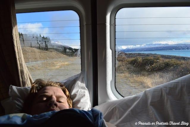 Waking up - Nea Zealand RV Rental - Peanuts or Pretzels