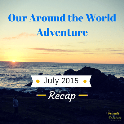 Around the World Adventure July 2015
