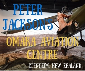 Walk Through Aviation History – The Peter Jackson Omaka Aviation Centre in Blenheim, New Zealand