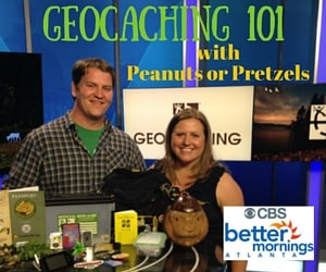 Geocaching 101 – Better Mornings Atlanta with Peanuts or Pretzels