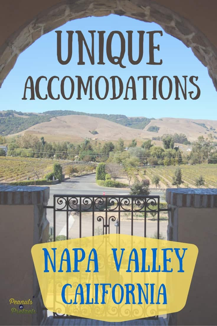 Napa Accomodation - Pin