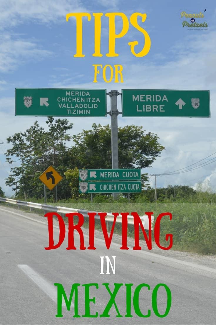 Tips Driving Mexico - Pin