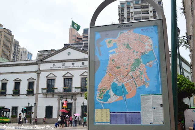 City Map of Macau