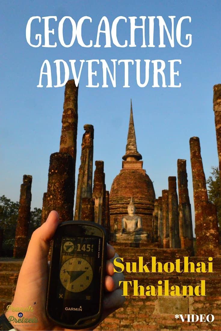 Geocaching Sukhothai - Pin