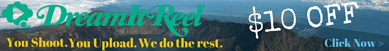 Dream It Reel 10 off Banner