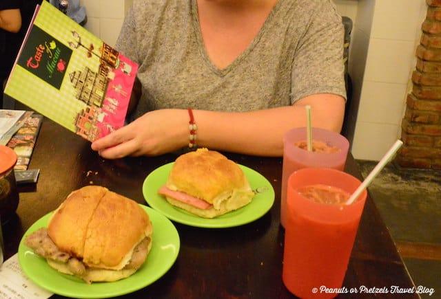 Food tour of macau