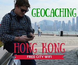 Geocaching in Hong Kong with FREE City Wifi