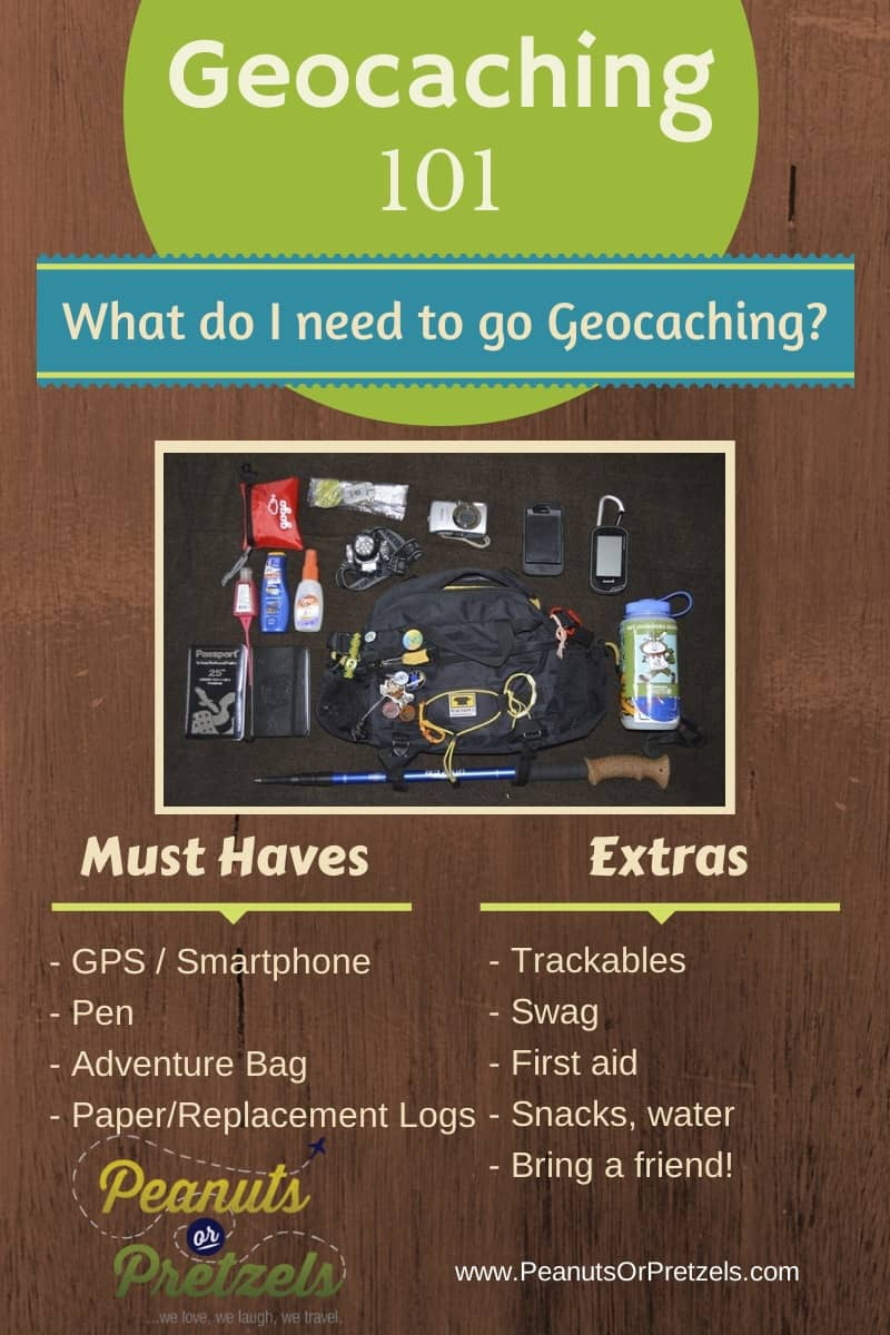 Geocaching 101 What do I Need to go