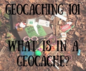 Geocaching 101:  What is in a Geocache?  Treasure?