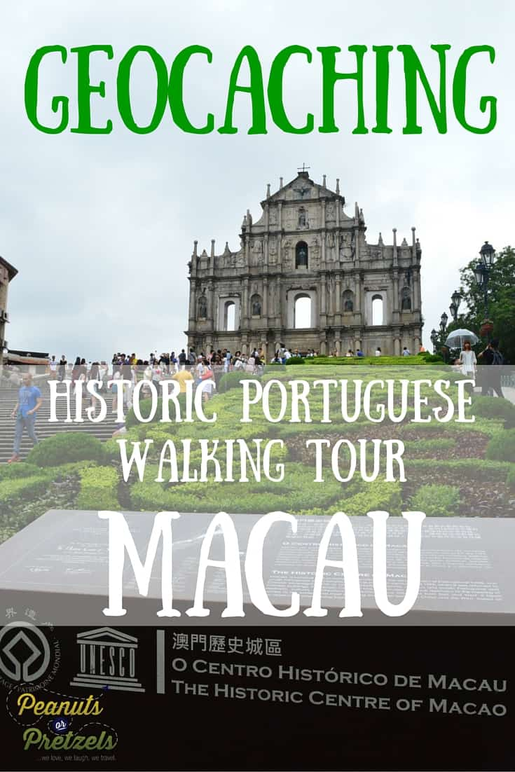 Geocaching Macau - Pin