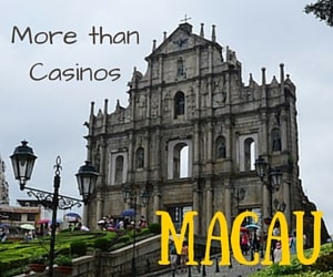 There's More To Do in Macau Than Just Casinos!  Who Knew?!?!?