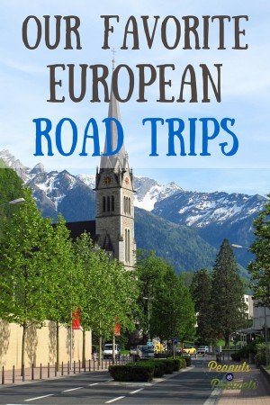 Our Favorite European Road Trips - Pin