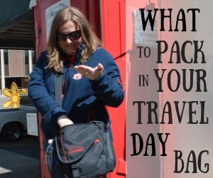 What to Pack in Your Day Travel Bag