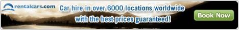 rentalcars.com banner