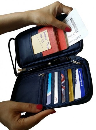 Travel Wallet:Document Holder