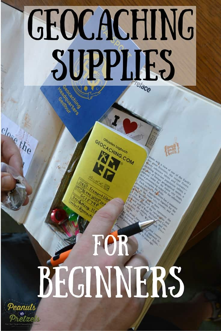 Geocaching Supplies for Beginners PIN