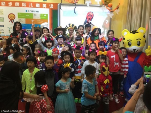 Halloween Party in China - Peanuts or Pretzels