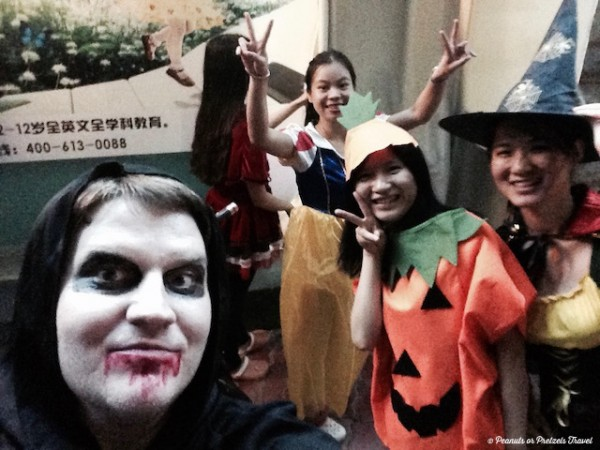 Halloween in China - Peanuts or Pretzels