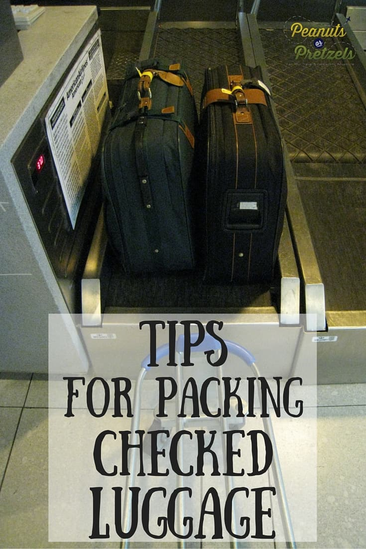 How to Pack for Checked Luggage - PIN