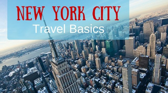 new york city travel basics