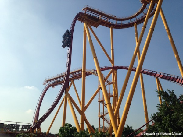Roller Coasters in Chimelong Paradise