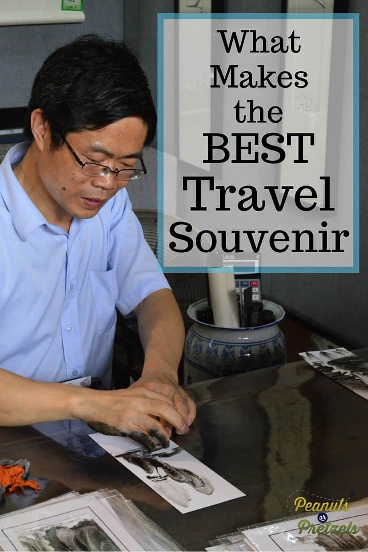 What Makes the Best Travel Souvenir - PIn